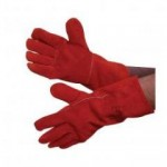 Kevlar Stitched Red Gauntlets S6