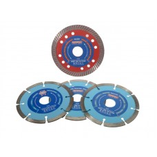 Faithfull Diamond Blade Set, 4 Piece