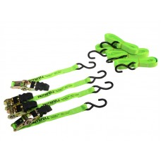 Faithfull Ratchet Tie Down Set, 4 Piece