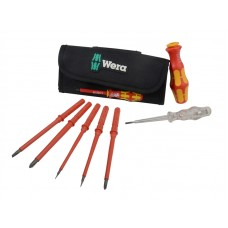 WERA 7PCE INTERCHANGEABLE VDE SCREWDRIVER SET