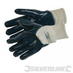 Open Back Jersey Lined Nitrile Gloves 675145
