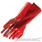 Red PVC Gauntlets 868551